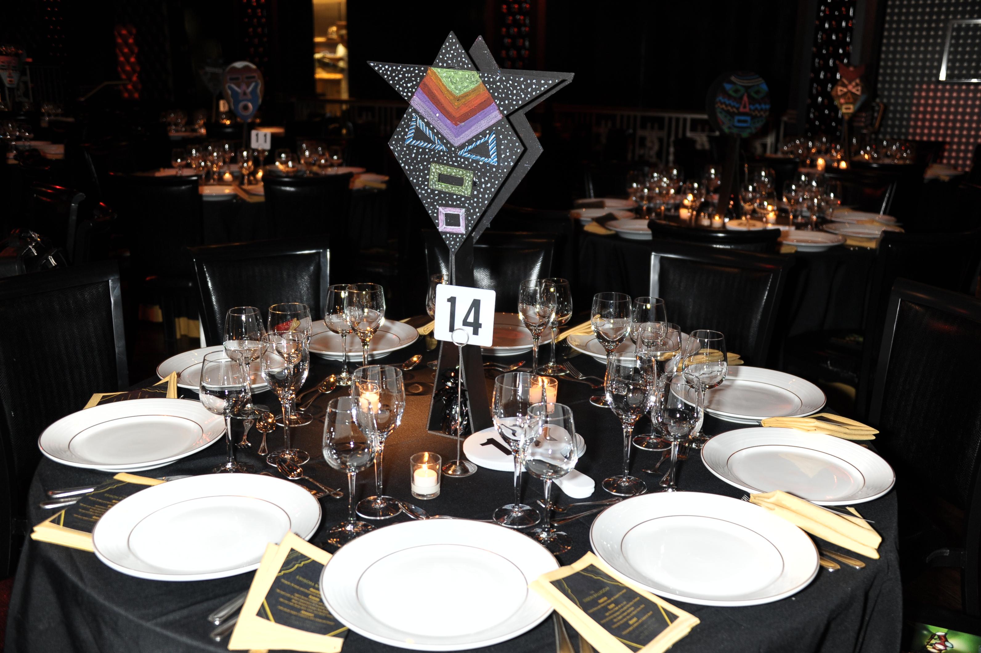 Featured On The Tables As Centerpieces At Our 2011 Annual Gala Were African Inspired  Masks. The Unique Masks Not Only Added Something Special To The Event ...
